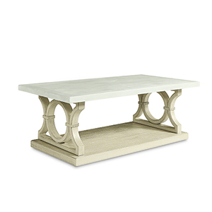 Roseline Olivia Rectangular Cocktail Table