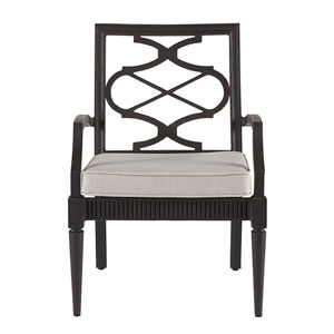 Morrissey Outdoor Phillips Arm Dining Chair  Set of Two