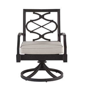 Morrissey Outdoor Phillips Swivel Dining Rocker Set of Two
