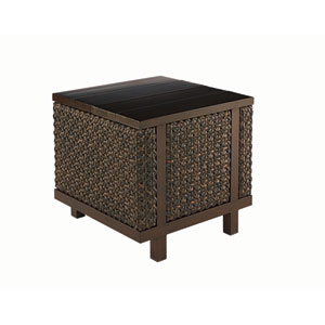 Epicenters Outdoor Greenwich Rectangular End Table