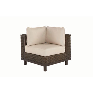 Epicenters Outdoor Brentwood Wicker Corner End Chair