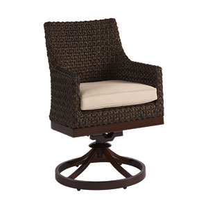 Epicenters Outdoor Franklin Wicker Swivel Rocker Set of Two