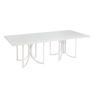 Cityscapes Outdoor Empire Slat Top Rectangular Dining Table
