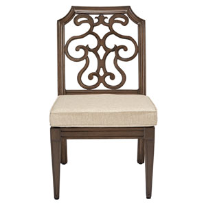 Arch Salvage Outdoor Gabrielle Armless Dining Chair