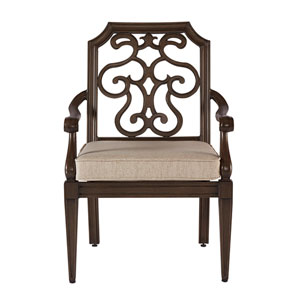 Arch Salvage Outdoor Gabrielle Dining Chair Set of Two