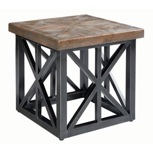Arch Salvage Outdoor Oliver 22 Inch End Table