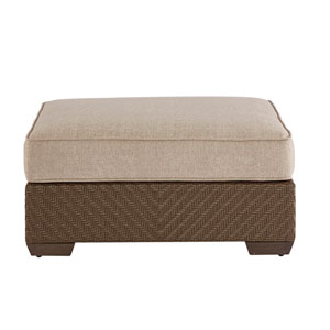 Arch Salvage Outdoor Florence Uph Storage Ottoman