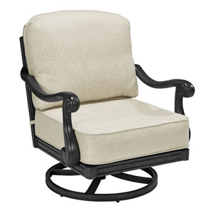 Arch Salvage Outdoor Cannes Swivel Rocking Club Chair Set of Two