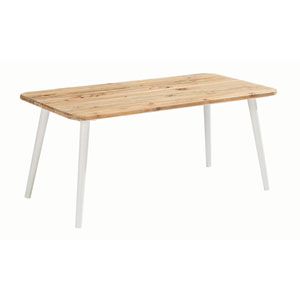 Epicenters Austin Outdoor Darrow Recycle Teak Coffee Table