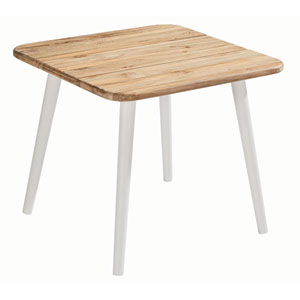 Epicenters Austin Outdoor Darrow Recycle Teak End Table