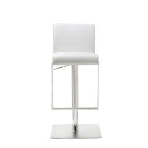 Clay White 41-Inch Barstool