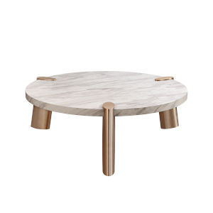 Mimeo White Round Coffee Table