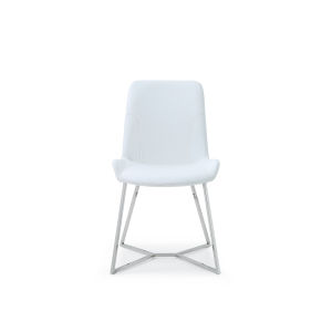 Aileen White Dining Chair