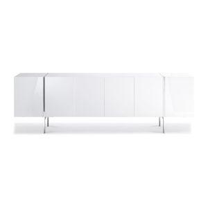 Struttura Gloss White 95-Inch Buffet