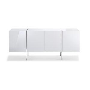 Struttura Gloss White 71-Inch Buffet