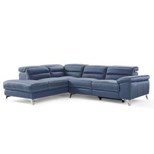 Johnson Navy Sectional Sofa
