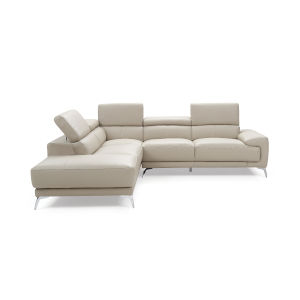 Fabiola Light Gray Sectional Sofa