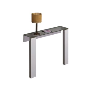 Jane High Gloss White Console Table