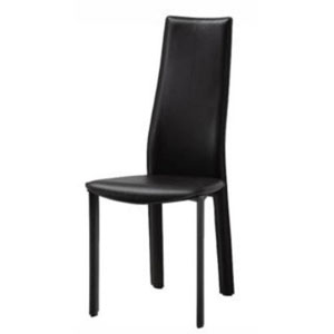 Allison Black 40-Inch Dining Chair, Set of 4