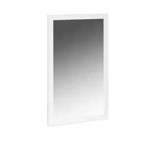 Eddy High Gloss White Mirror