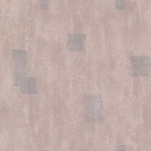 Walker Purple Leathered Square Medallion Wallpaper
