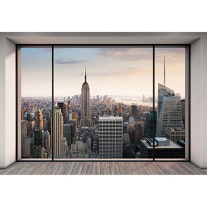 Multicolor Penthouse Wall Mural