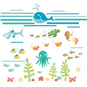 Under The Sea Applique Kit