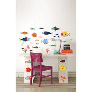 Fish Tales Wall Art Kit