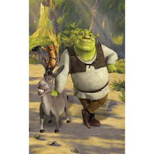 Shrek Wall Mural