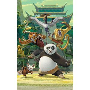 Kung Fu Panda Wall Mural