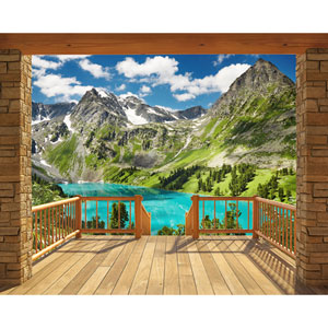 Alpine Mountain Wall Mural