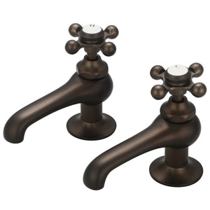 Vintage Classic Oil Rubbed Bronze with Protective Coating Lever Handles Basin Low Lead Water Sense Faucet
