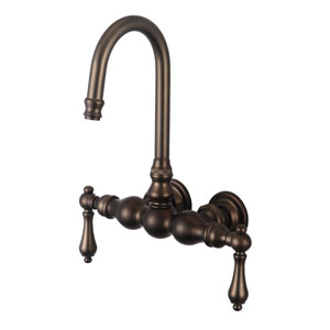Vintage Classic Oil Rubbed Bronze with Protective Coating Lever Handles Basin Faucet