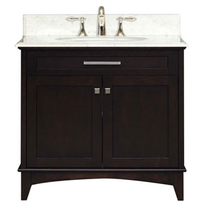 Manhattan Espresso  Single Sink 30-Inch Bathroom Vanity
