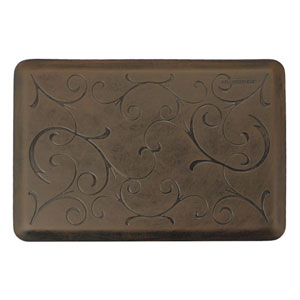 Motif Bella Antique Dark 3x2 Premium Anti-Fatigue Mat