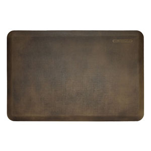 Motif Linen Antique Dark 3x2 Premium Anti-Fatigue Mat