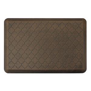 Motif Trellis Antique Dark 3x2 Premium Anti-Fatigue Mat