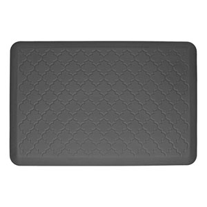 Motif Trellis Grey 3x2 Premium Anti-Fatigue Mat