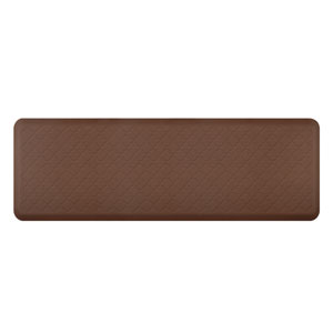 Motif Trellis Brown 6x2 Premium Anti-Fatigue Mat