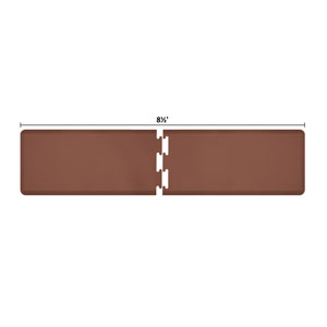 PuzzlePiece 2-Ft. R-Series Brown 8.5 Premium Anti-Fatigue Mat