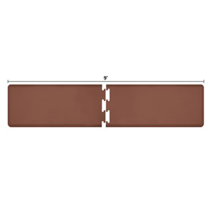 PuzzlePiece 2-Ft. R-Series Brown 9 Premium Anti-Fatigue Mat