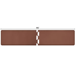 PuzzlePiece 2-Ft. R-Series Brown 9.5 Premium Anti-Fatigue Mat