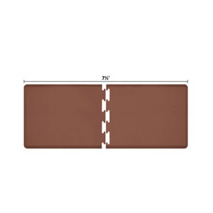 PuzzlePiece 3-Ft. R-Series Brown 7.5 Premium Anti-Fatigue Mat