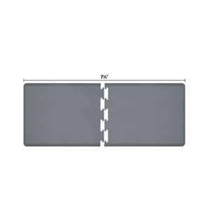 PuzzlePiece 3-Ft. R-Series Grey 7.5 Premium Anti-Fatigue Mat