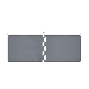 PuzzlePiece 3-Ft. R-Series Grey 8 Premium Anti-Fatigue Mat