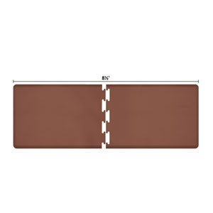 PuzzlePiece 3-Ft. R-Series Brown 8.5 Premium Anti-Fatigue Mat