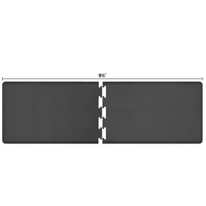 PuzzlePiece 3-Ft. R-Series Black 9.5 Premium Anti-Fatigue Mat