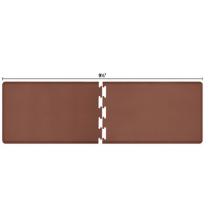 PuzzlePiece 3-Ft. R-Series Brown 9.5 Premium Anti-Fatigue Mat