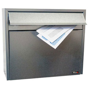 Allux Series Galvanized LT150 Wall Mounted Locking Mailbox