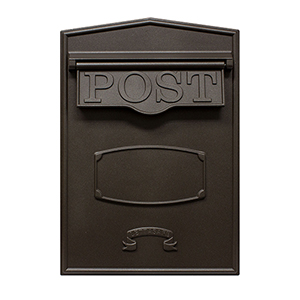 Letta safe Bronze Wall or Column Mount Mailbox